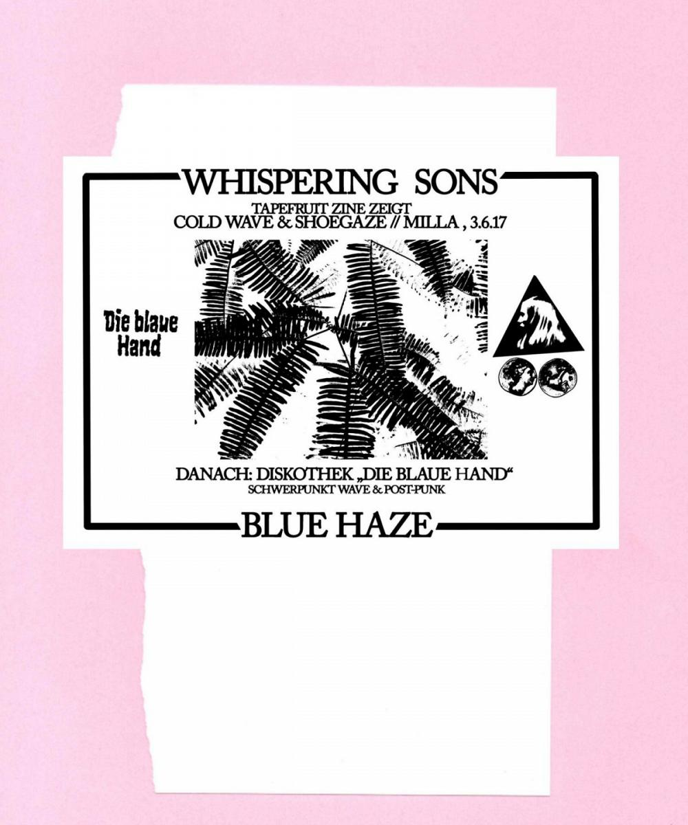 Tapefruit Konzert: Whispering Sons + Blue Haze | 03.06.2017 @ Milla Club